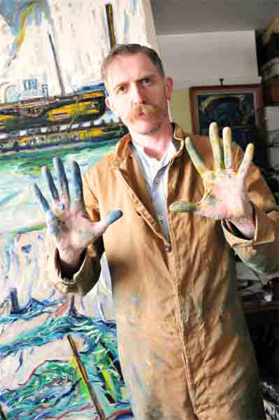 photo of Billy Childish by Shawn Vinson