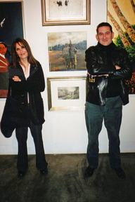 photo of ruth franklin, chris pig, atlanta contemporary art center atlart04